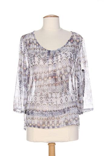 messcalino t-shirts femme de couleur gris