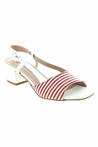 mauro teci chaussures femme de couleur rouge