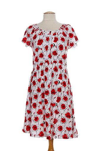 ethos robes et longues femme de couleur rouge