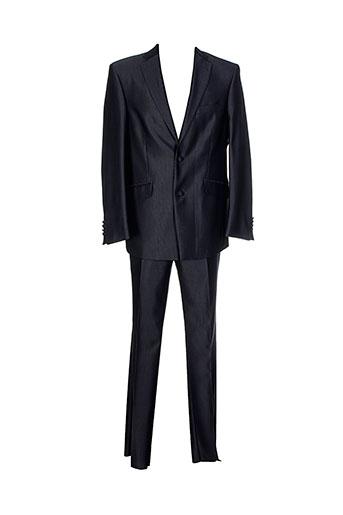 griffe et noire pantalon et veste homme de couleur gris
