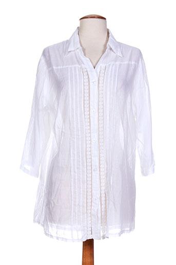f.d joseph chemises femme de couleur blanc