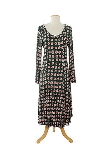 roshanara robes femme de couleur vert