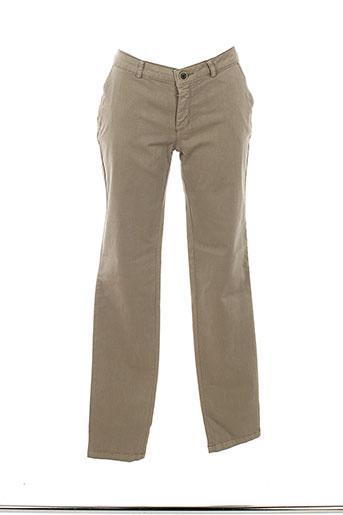 ese et o et ese pantalons et citadins femme de couleur beige