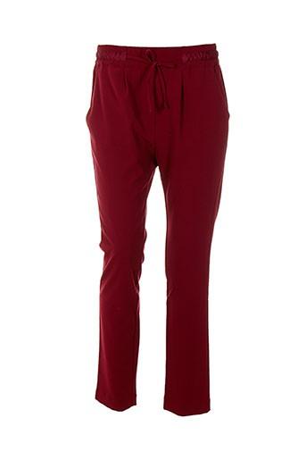 la et fee et maraboutee pantalons et citadins femme de couleur rouge