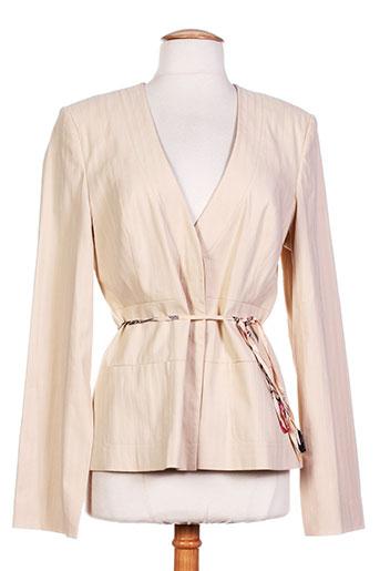 birger et mikkelsen vestes femme de couleur beige