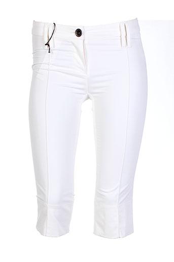 plein sud shorts / bermudas femme de couleur beige