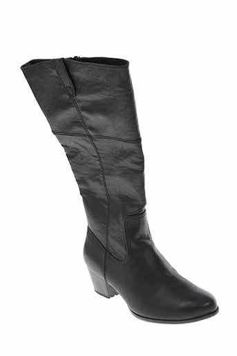 soft et line bottes femme de couleur noir