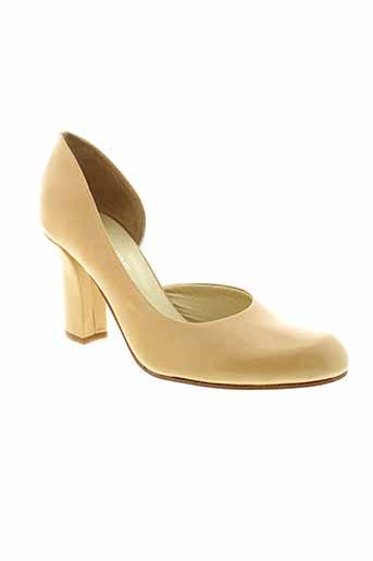 elizabeth stuart chaussures femme de couleur beige
