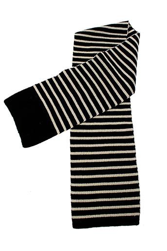 bellerose echarpes et gants enfant de couleur noir