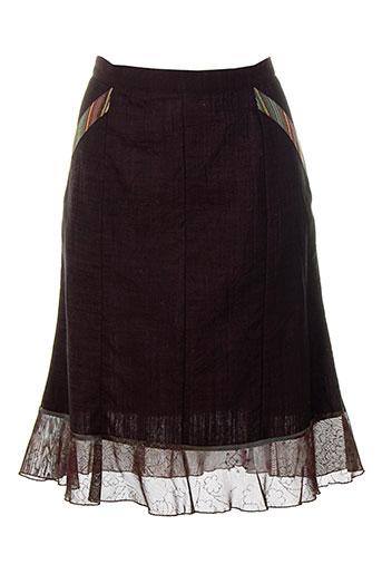 coco menthe jupes femme de couleur violet