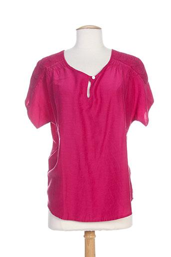 new man tuniques femme de couleur rose