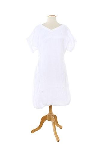 lilith robes femme de couleur blanc