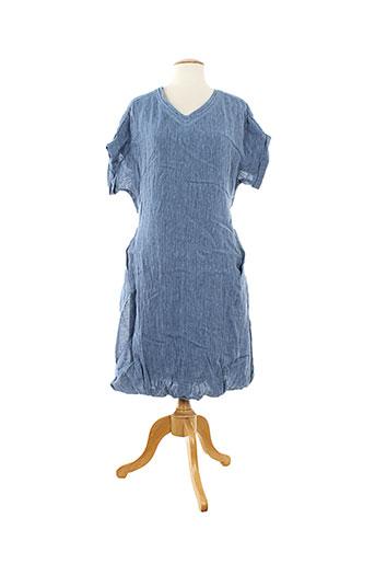 lilith robes femme de couleur bleu