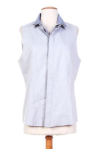 barbara bui chemises femme de couleur bleu