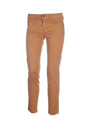 corleone pantalons et decontractes femme de couleur marron