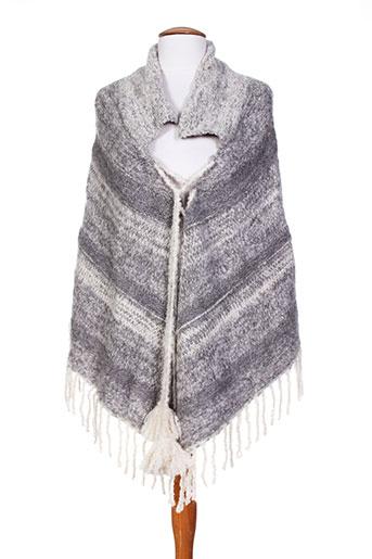 ambre babzoe vestes femme de couleur gris