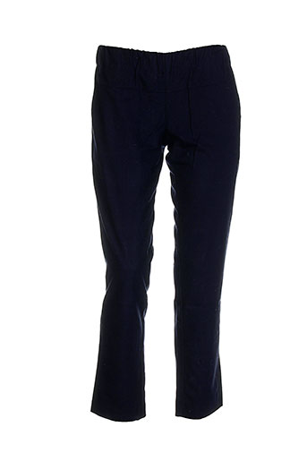 Pantalon chic bleu AMBRE BABZOE pour femme
