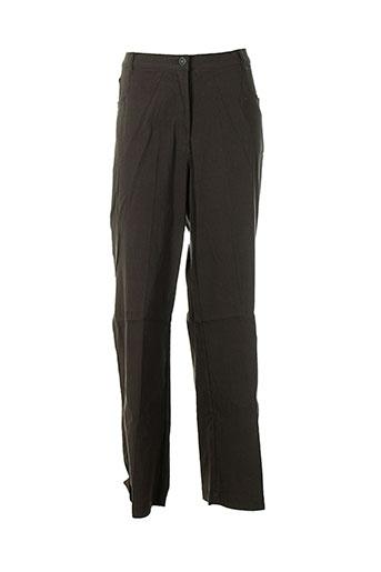 exelle pantalons femme de couleur noir