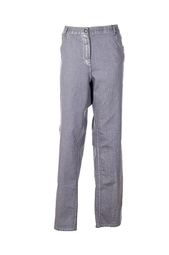 no secret pantalons femme de couleur gris