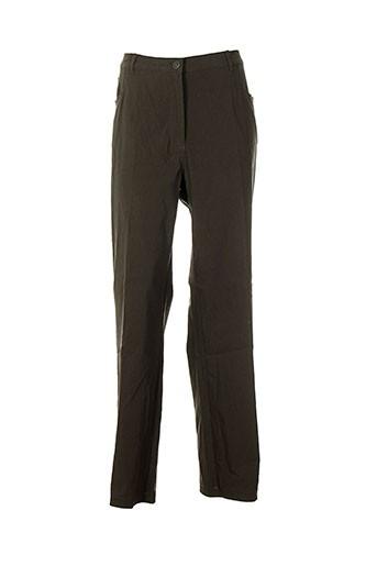no secret pantalons femme de couleur vert