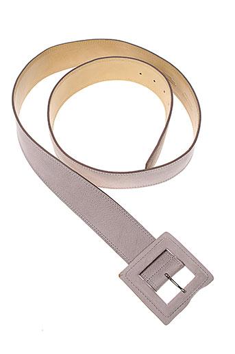 atelier et bower ceintures femme de couleur gris