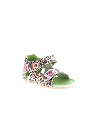 falcotto chaussures fille de couleur beige