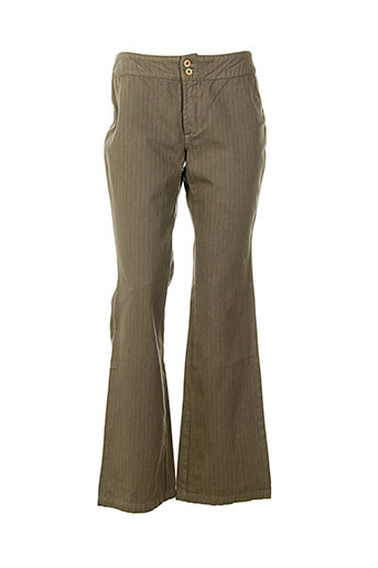 school et rag pantalons et decontractes femme de couleur beige