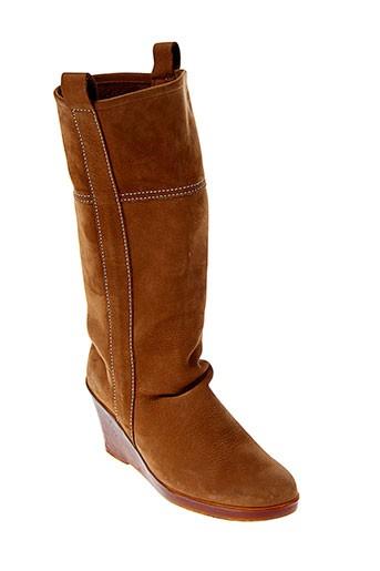 arche chaussures femme de couleur marron