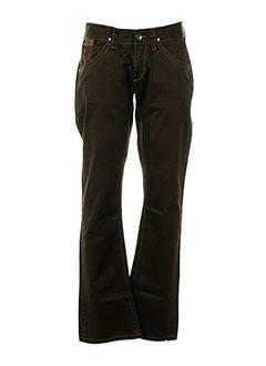 Pantalon casual marron ENERGIE pour homme