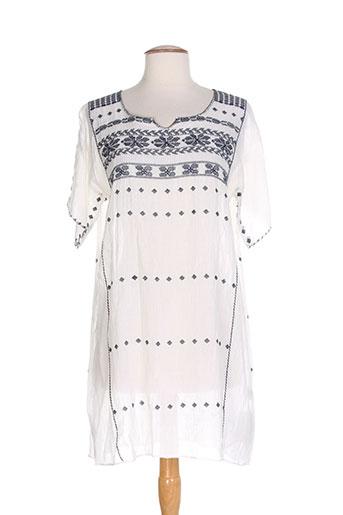 ambre babzoe tuniques femme de couleur blanc