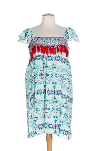 ambre babzoe robes femme de couleur bleu
