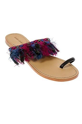 ambre et babzoe sandales et nu et pieds femme de couleur rose
