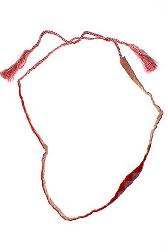 ambre babzoe accessoires femme de couleur rose