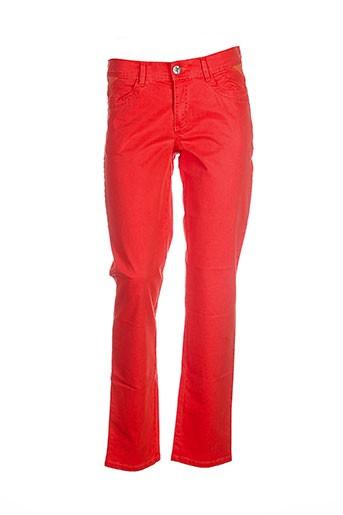 cmk pantalons femme de couleur orange