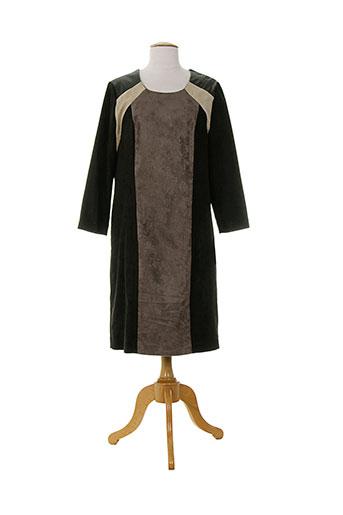 anne kelly robes femme de couleur marron