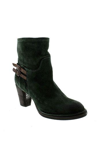 alberto et fermani boots femme de couleur vert