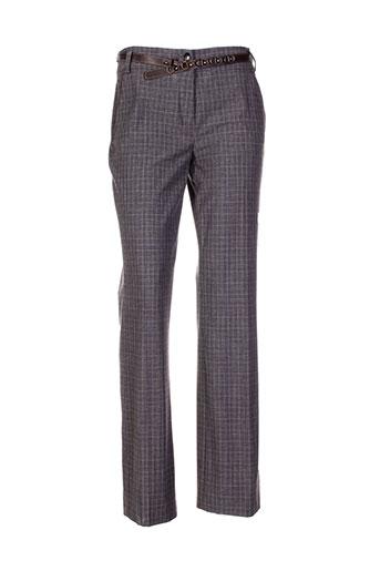 apanage pantalons femme de couleur gris