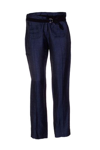 bleu blanc rouge pantalons femme de couleur bleu