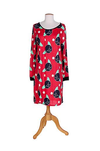 dorothee ossart tuniques femme de couleur rouge