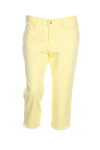 kanope pantacourts femme de couleur jaune