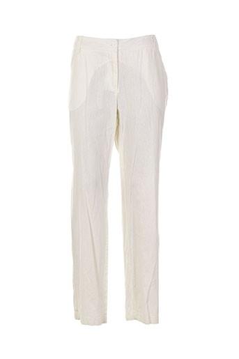 brandtex pantalons et decontractes femme de couleur beige