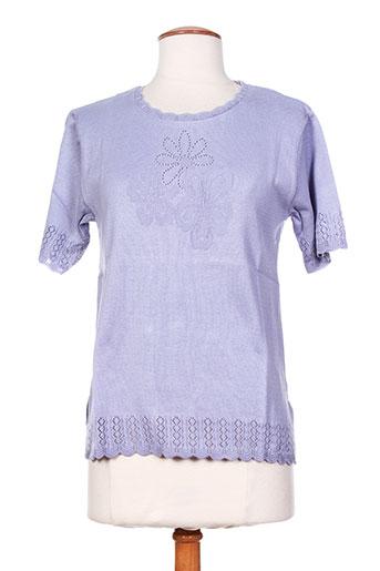 eleane pulls femme de couleur violet