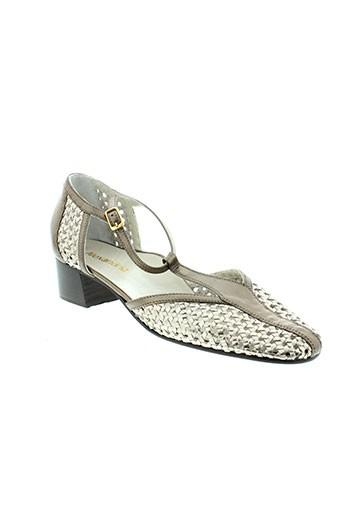 alexandria chaussures femme de couleur gris