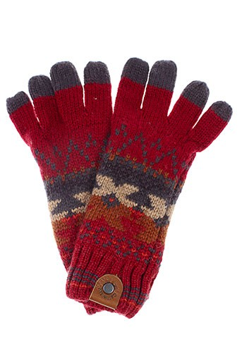 catimini echarpes et gants enfant de couleur rouge