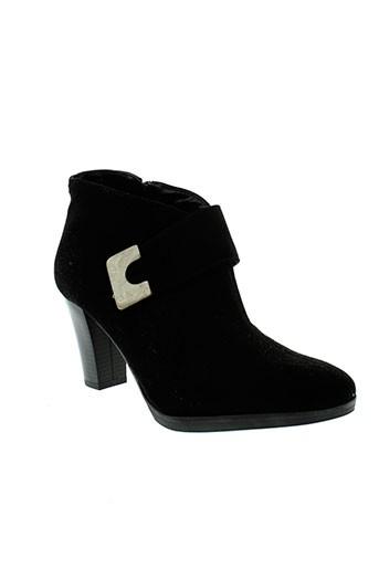 pierre et cardin boots femme de couleur noir