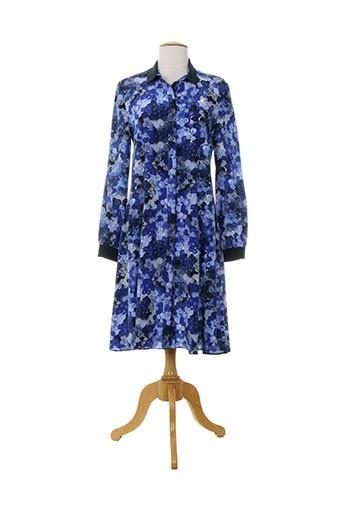 cacharel robes femme de couleur bleu