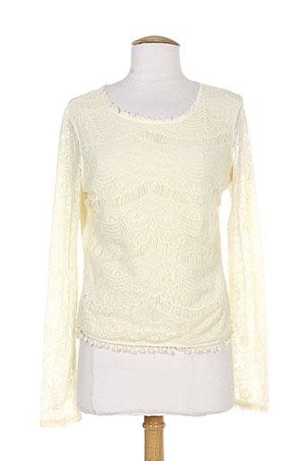 T-shirt manches longues beige REDSOUL pour femme