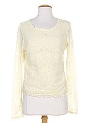 T-shirt manches longues beige REDSOUL pour femme seconde vue