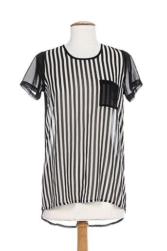 maryley chemises femme de couleur noir