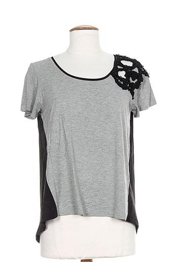 pianurastudio chemises femme de couleur gris